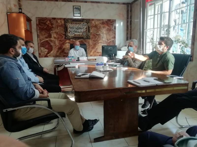 برگزاری جلسه شورای اداری دبیرستان